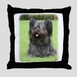 Skye Terrier 9Y766D-031 Throw Pillow