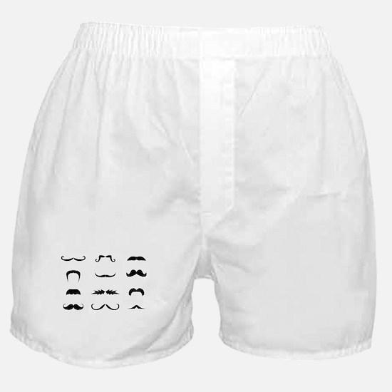 Moustache collection Boxer Shorts