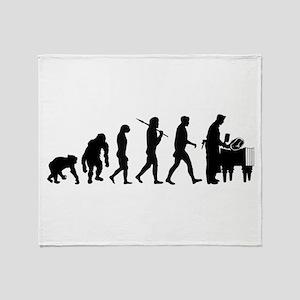 Butcher Evolution Throw Blanket