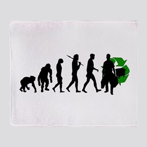Evolution of Ecology Throw Blanket