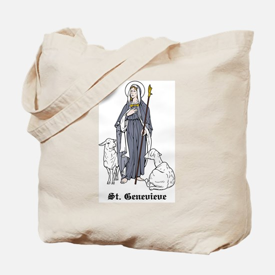 St. Genevieve Tote Bag