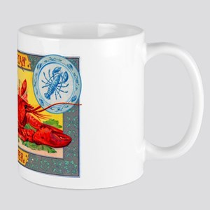 American Lobster Cigar Label Mug