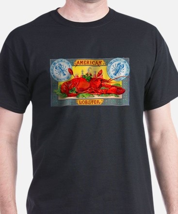 American Lobster Cigar Label T-Shirt