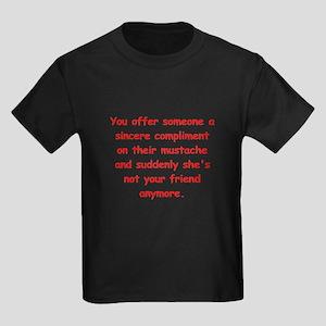 male joke Kids Dark T-Shirt