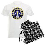 Indiana Free Masons Men's Light Pajamas