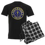 Indiana Free Masons Men's Dark Pajamas