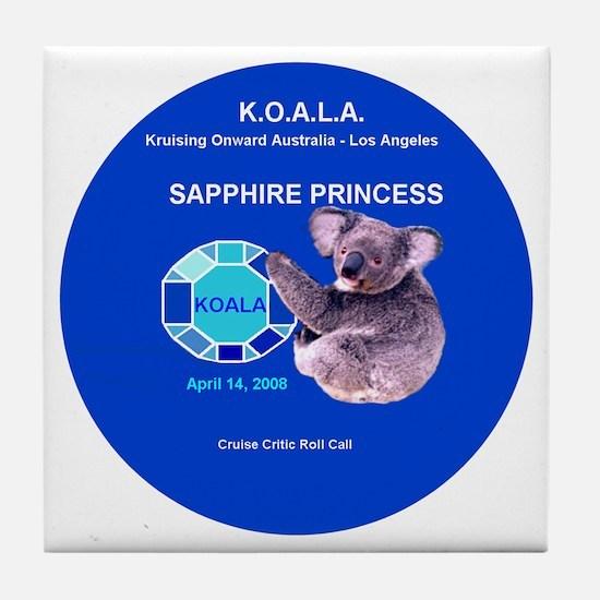 Sapphire KOALA 2008 - Tile Coaster