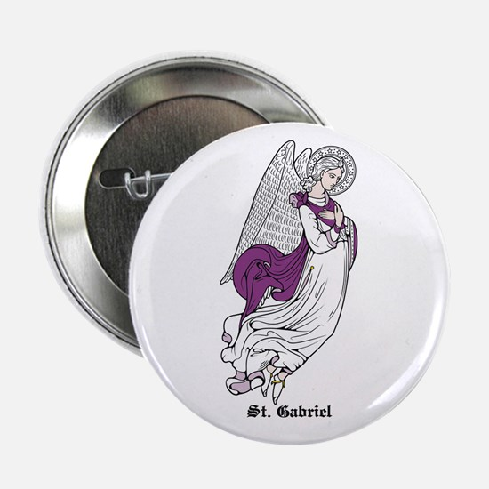 "St. Gabriel 2.25"" Button (10 pack)"