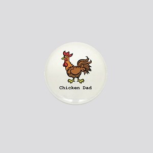 Chicken Dad Mini Button
