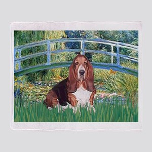 Lily Bridge Basset Throw Blanket
