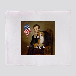 Lincoln & Beagle Throw Blanket