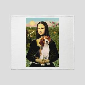 Mona's Beagle #1 Throw Blanket