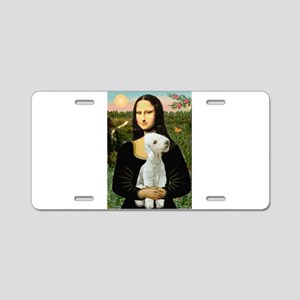 Mona / Bedlington(T) Aluminum License Plate