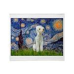 Starry / Bedlington Throw Blanket