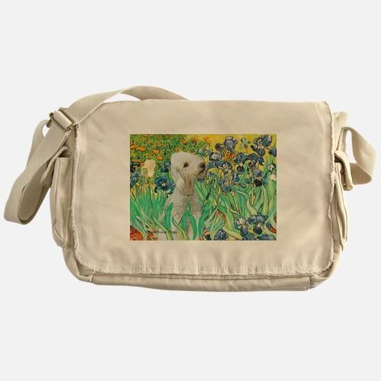Irises /Bedlington T Messenger Bag