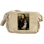 Mona's Bernese Mt. Dog Messenger Bag