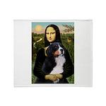 Mona's Bernese Mt. Dog Throw Blanket