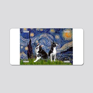 Starry Night & Bos Ter Aluminum License Plate