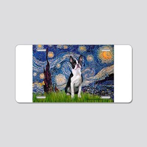 Starry Night Boston (#2) Aluminum License Plate