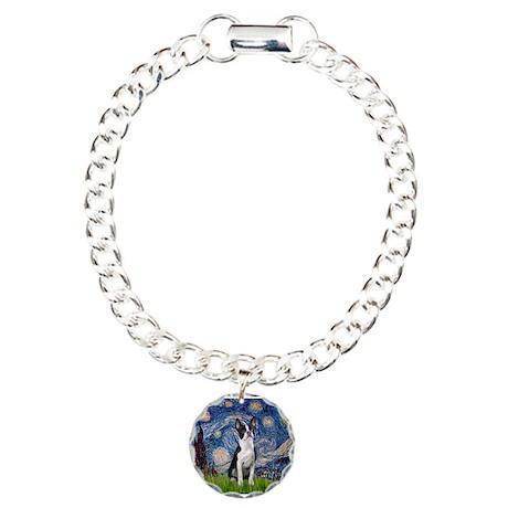 Starry Night Boston (#2) Charm Bracelet, One Charm
