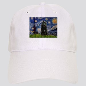 Starry Night Bouvier Cap