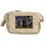Starry Night Bouvier Messenger Bag