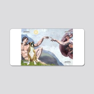 Creation of the Boxer Aluminum License Plate