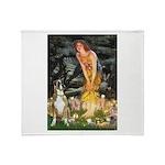 Fairies & Boxer Throw Blanket