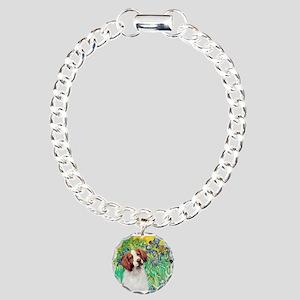 Irises/Brittany Charm Bracelet, One Charm