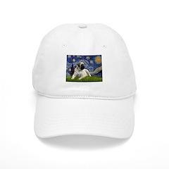 Starry / Bullmastiff Baseball Cap