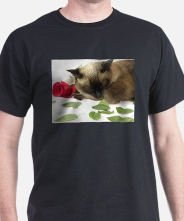 Funny Siamese cat T-Shirt