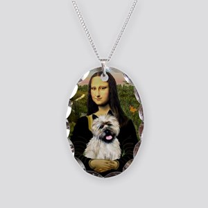 Mona /Cairn T Necklace Oval Charm