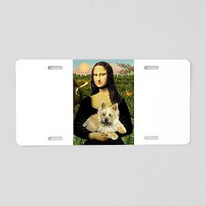 Mona / Cairn T (brin) Aluminum License Plate