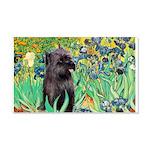 Irises / Cairn (#17) 20x12 Wall Decal
