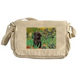 Irises / Cairn (#17) Messenger Bag