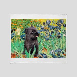 Irises / Cairn (#17) Throw Blanket