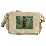 Bridge /Cairn Terrier (w) Messenger Bag
