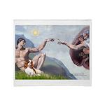 Creation / Cavalier Throw Blanket