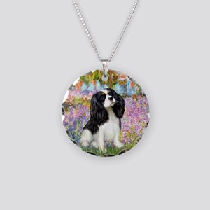 Garden & Tri Cavalie Necklace Circle Charm