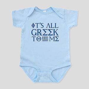It's All Greek Infant Bodysuit