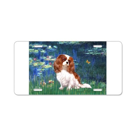 Lily Pond (#5) / Cavalier Aluminum License Plate