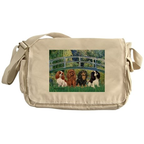 Bridge & 4 Cavaliers Messenger Bag