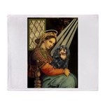 Madonna & Cavalier (BT) Throw Blanket
