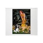 Fairies / Cavalier Throw Blanket