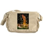 Fairies & Cavalier Messenger Bag