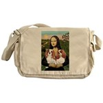 Mona's 2 Cavaliers Messenger Bag