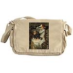 Ophelia & Cavalier (BT) Messenger Bag
