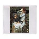 Ophelia & Cavalier (BT) Throw Blanket