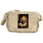 The Queens Cavalier Pair Messenger Bag