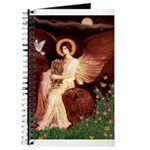 Seated Angel & Ruby Cavalier Journal